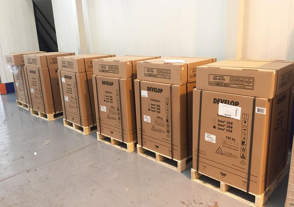 6 Brand new Develop ineo +258 / Konica Minolta bizhub C258 multi-function printer scanner devices